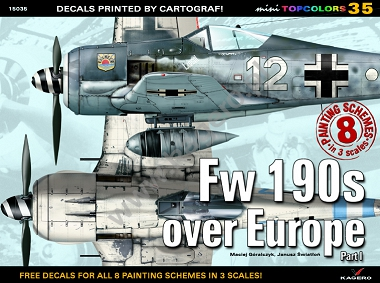35 - Fw 190s over Europe Part I (kalkomania)