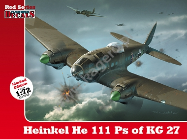 1/72 Heinkel He 111 Ps of KG 27 (decals)