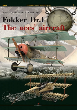 Fokker Dr.I The aces' aircraft (twarda oprawa)