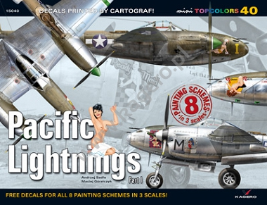 Pacific Lightnings Part I (kalkomania)