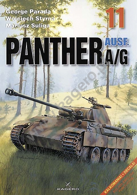 11 - PANTHER Ausf. A/G (without decal)
