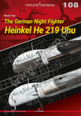 The German night fighter Heinkel He 219 Uhu