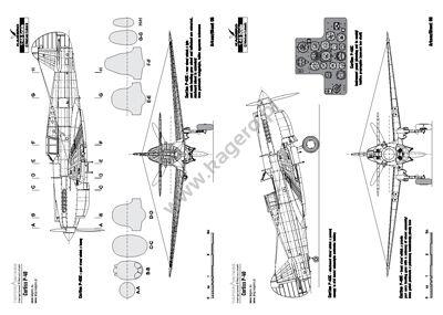 Curtiss P-40 B, C, D, E