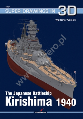 The Japanese Battleship Kirishima 1940